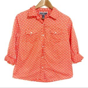 Karen Scott Button Down Blouse
